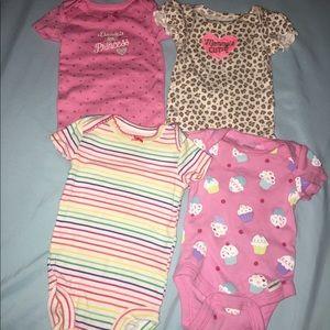 Other - Newborn Baby Girl Onesie's